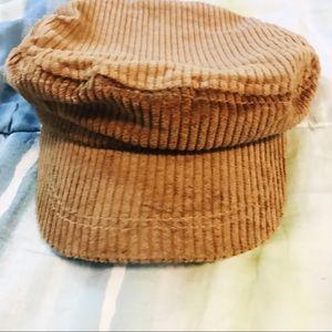 5831f0e79 tan corduroy Gigi Pip baker boy hat